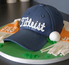 We make groom's cakes!