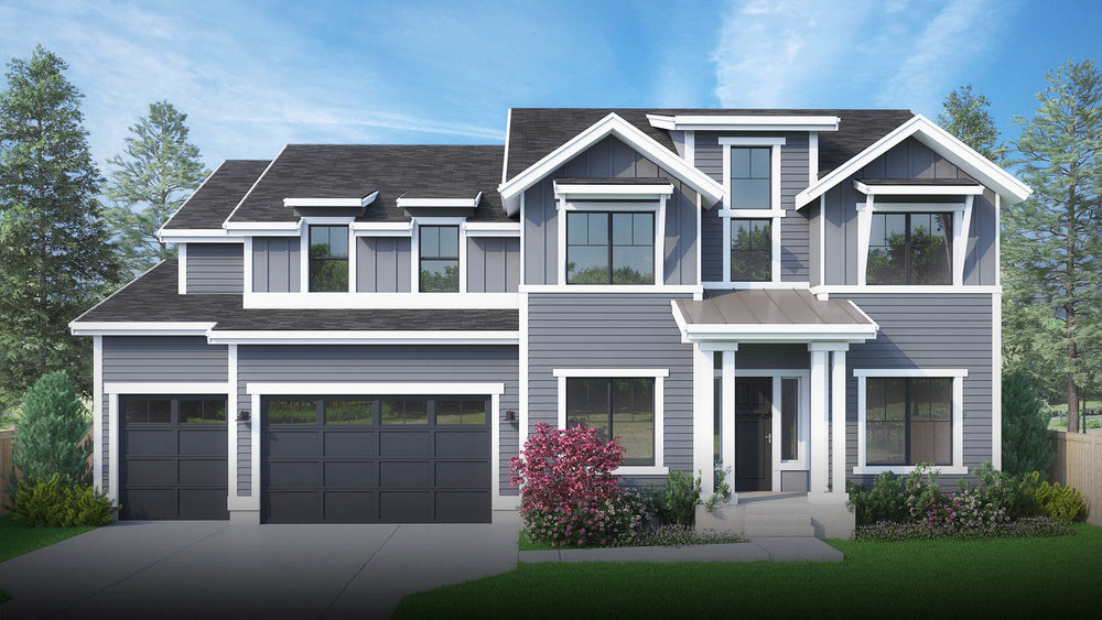 15031 SE 22nd Street | Bellevue 5 Beds, 4.5 Baths, 3,988 SF | Robinswood