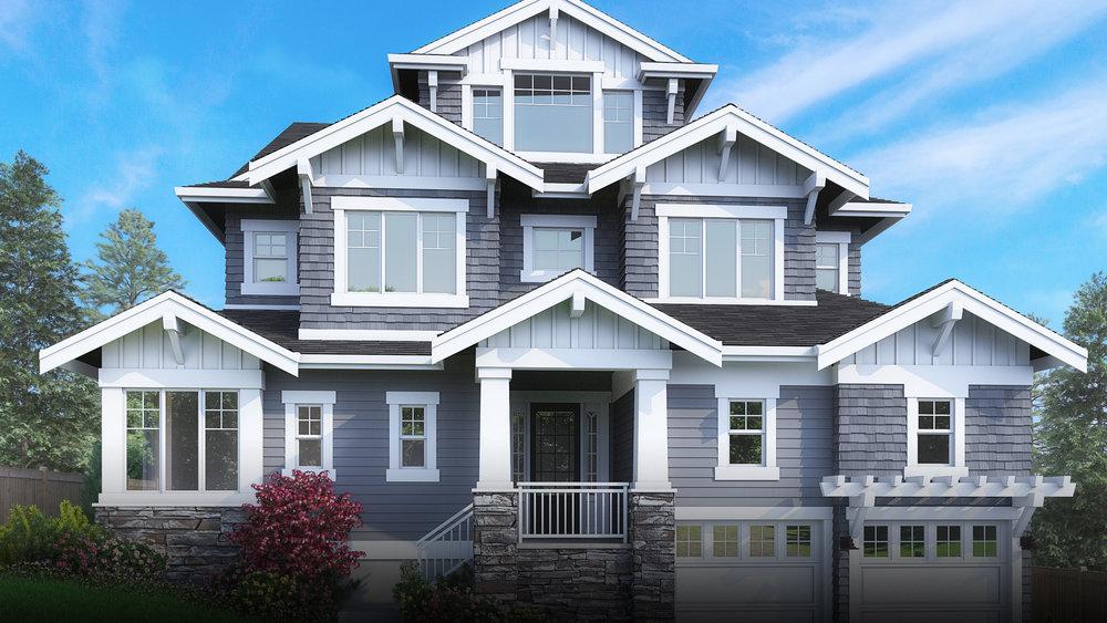 3003 169th Avenue NE | Bellevue 5 Beds, 5 Baths, 4,276 SF | Microsoft