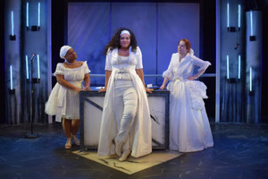 """The Revolutionists"" at Strawdog Theatre Company"