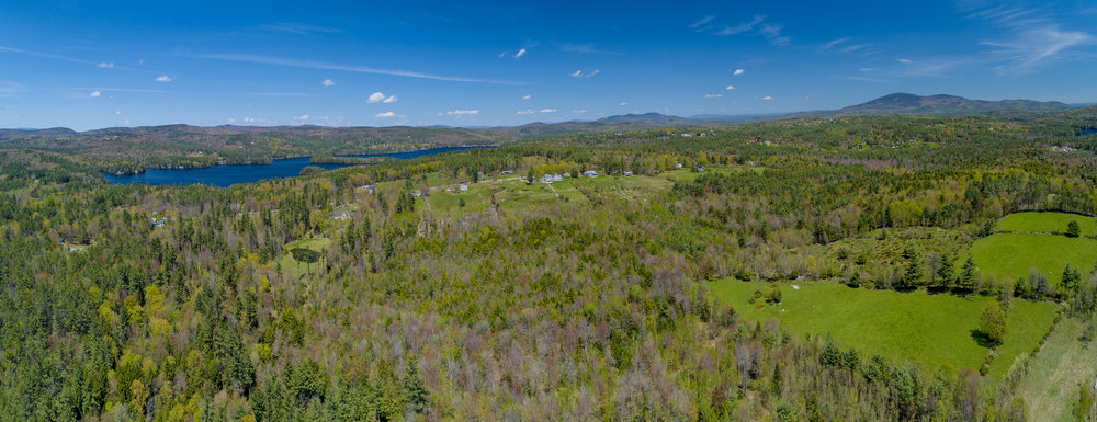 Little Lake Sunapee from Burpee Hill