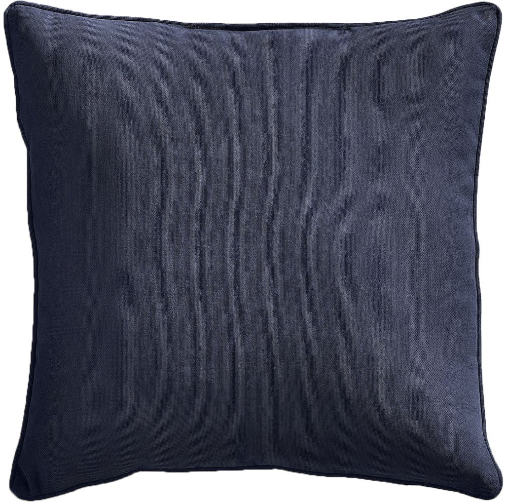 "Calliope 22"" Indigo Pillow - $35"