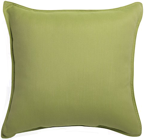 "Sunbrella ® Kiwi Green 20"" Sq. Outdoor Pillow - $44.95"