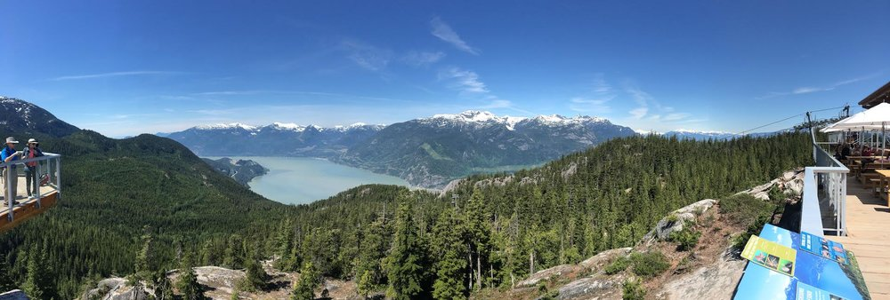 Sea to Sky Gondola View