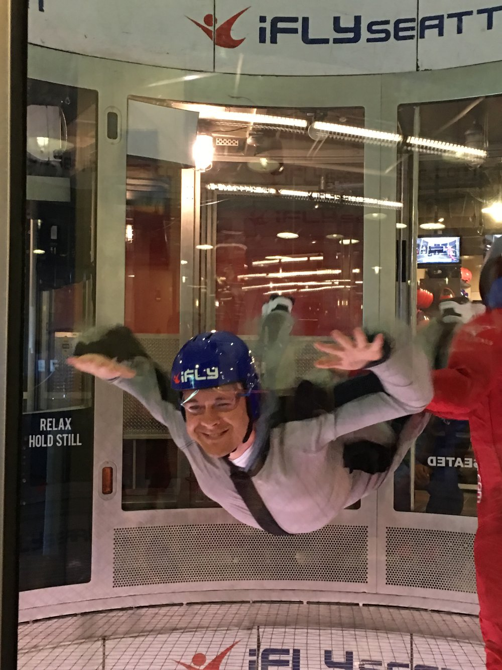 Indoor Sky Dive at iFly Seattle