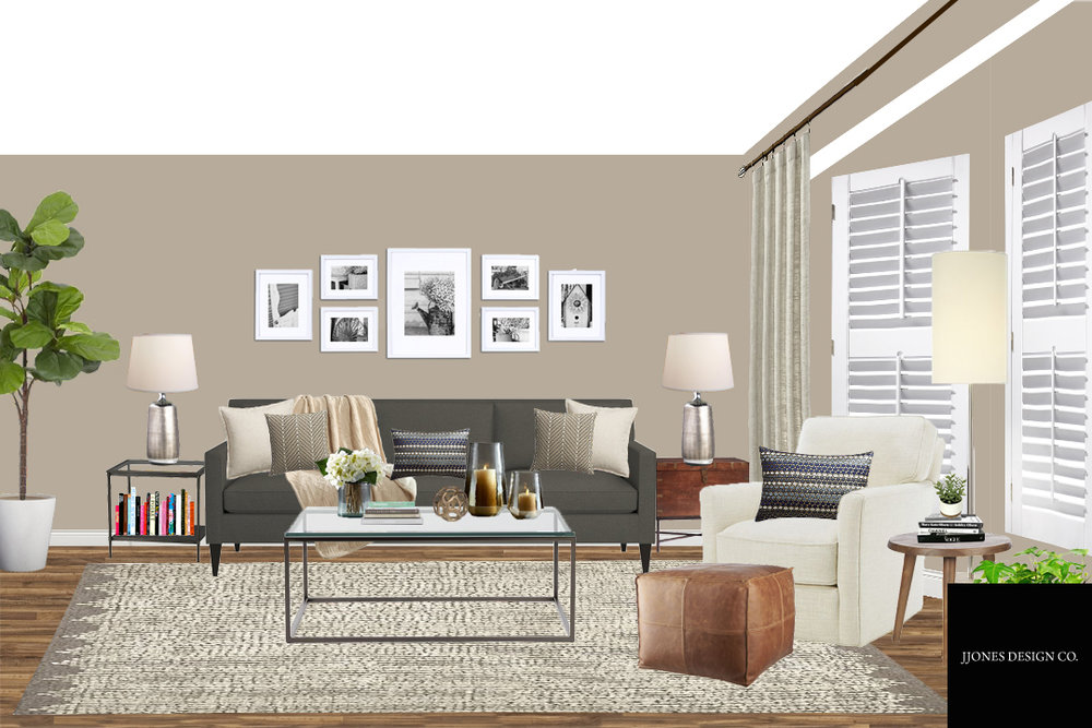 Modern Farmhouse Style Family Room