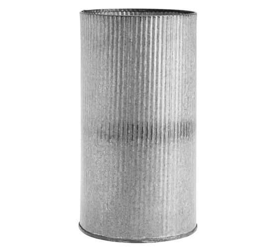 Corrugated Steel Vessels - Large - $16.50