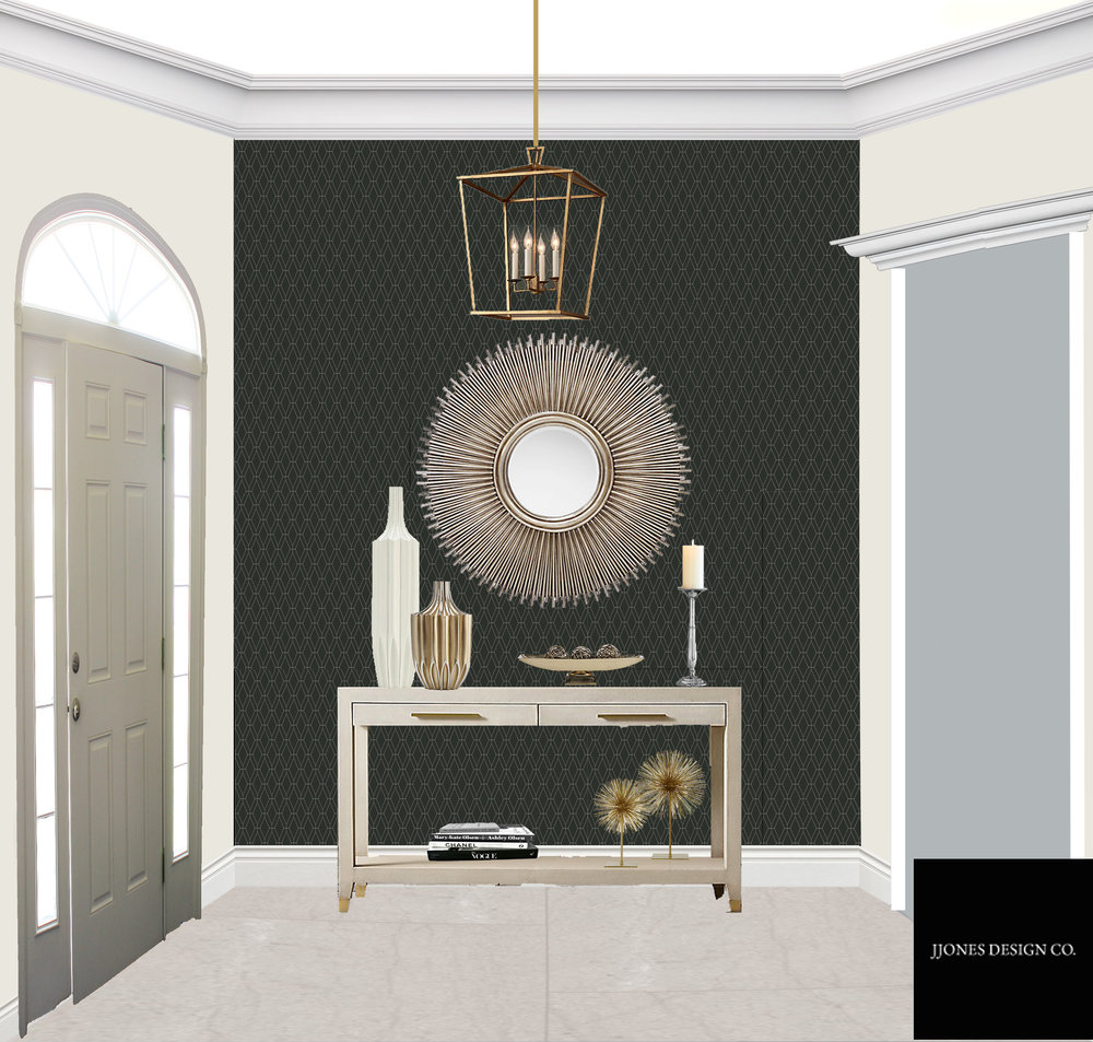 Luxury Foyer E-Design