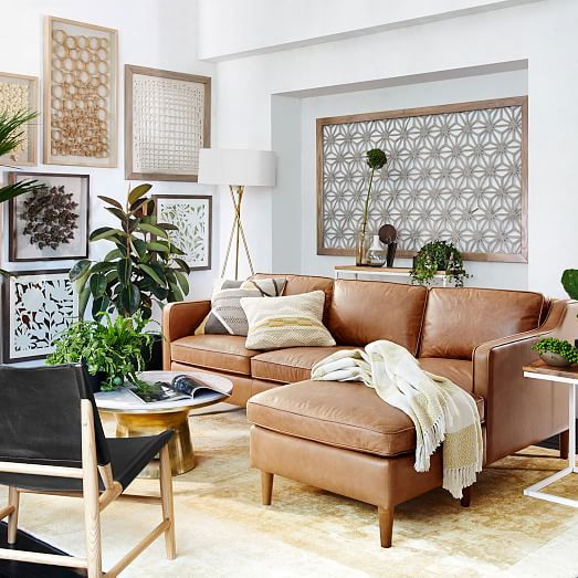 Living Room by  West Elm