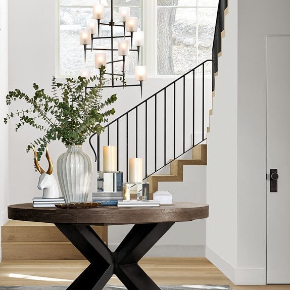 Entry area inspiration by  William Sonoma Home