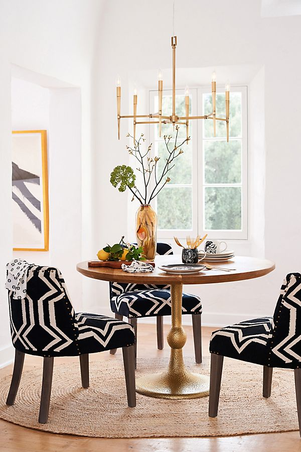 Dining room inspiration by   Anthropologie