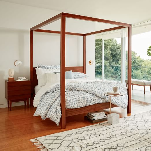 Master bedroom inspiration by  West Elm