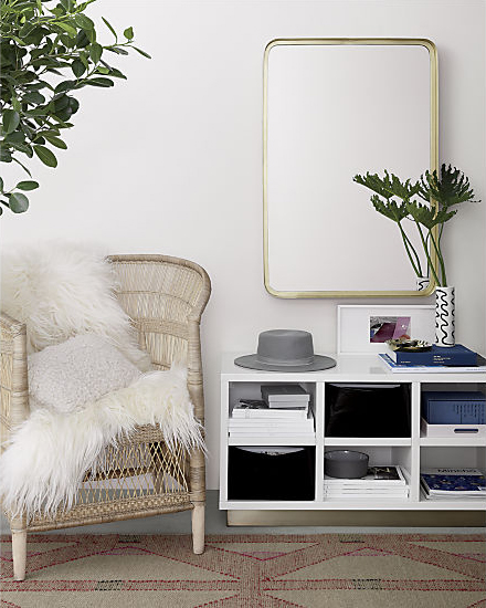 Stylish storage organization design inspiration by  CB2