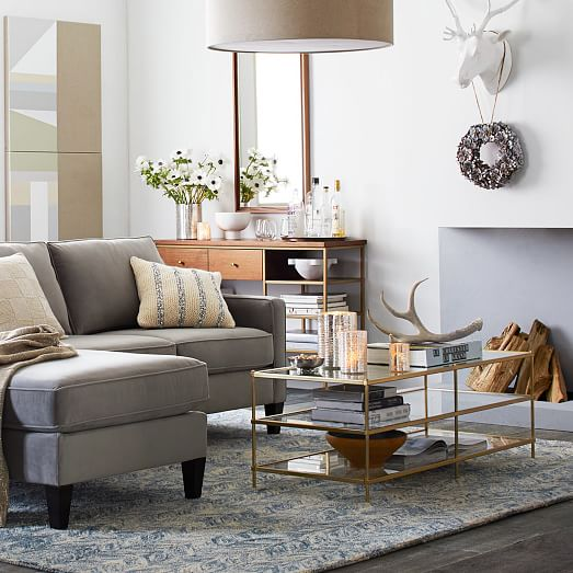Living room design inspiration by  West Elm