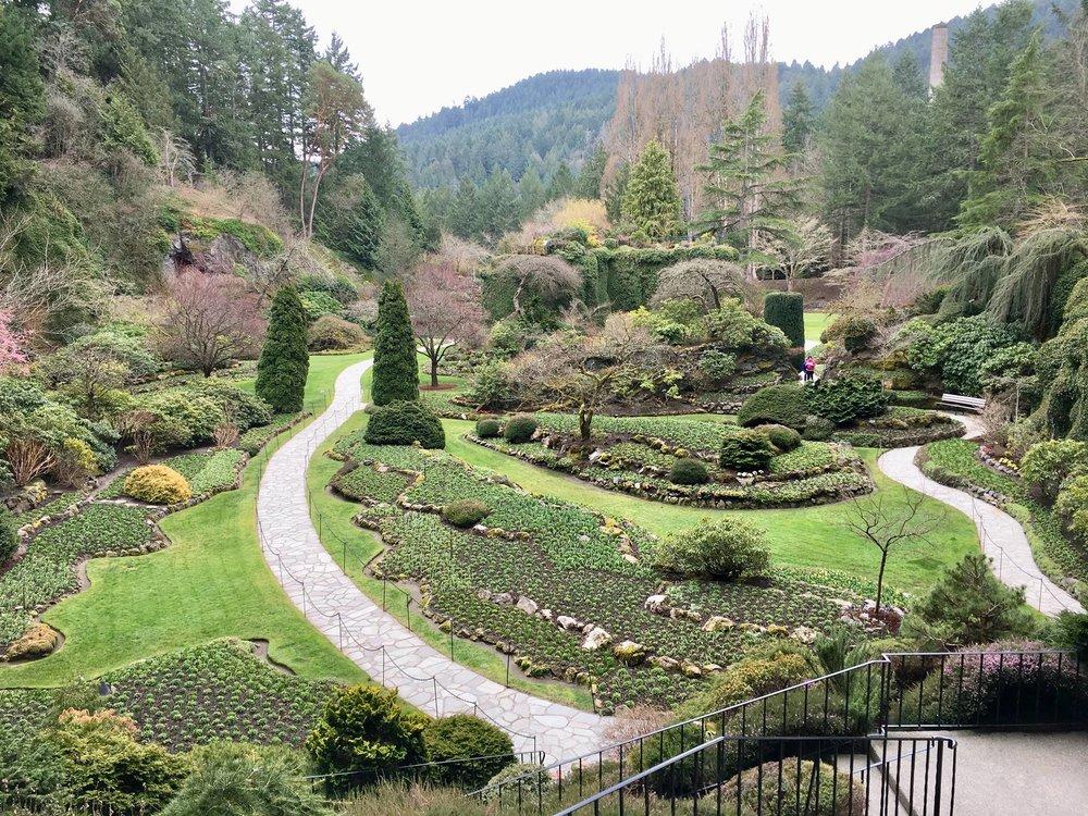 Butchart Gardens, Victoria B.C.