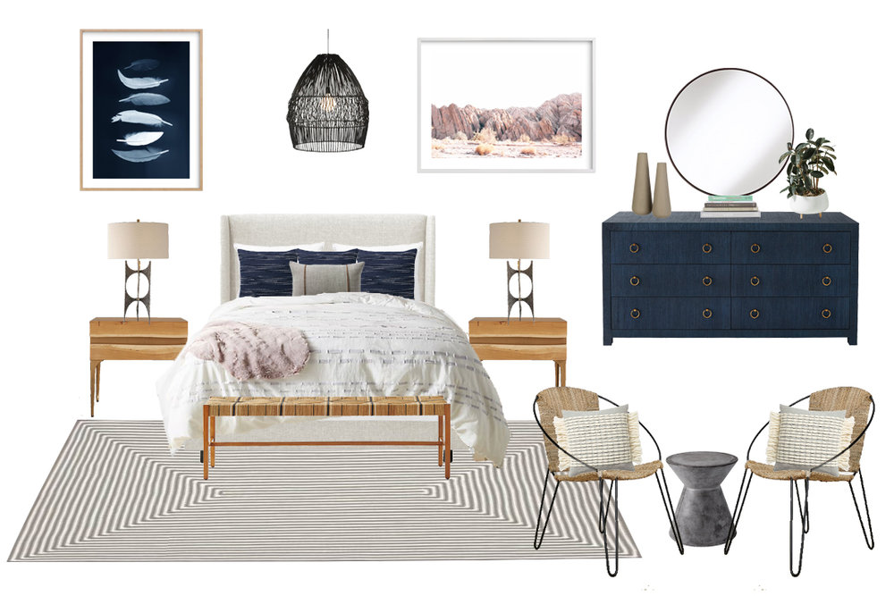 California Casual Bedroom