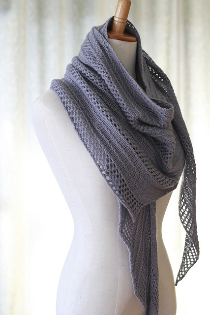 Caprius Shawl by Aroha Knits
