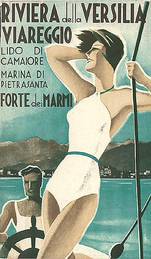"Versilia Yachting Rendez-vous, a new boat show event for luxury yachts, will be held in Viareggio this May.    Artwork: ""Riviera della Versilia Viareggio,"" circa 1935, unsigned."