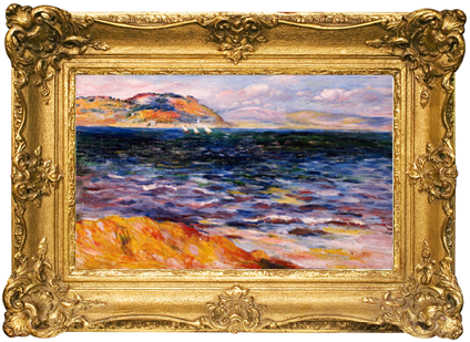 """Bordighera"" by Renoir."