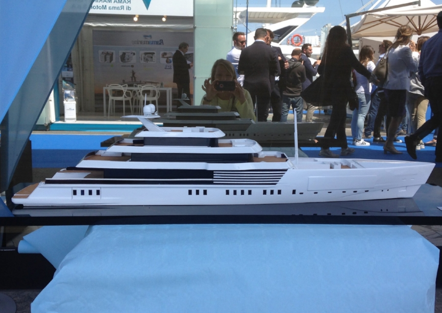 72m Concept Designed by Arch. Carignani