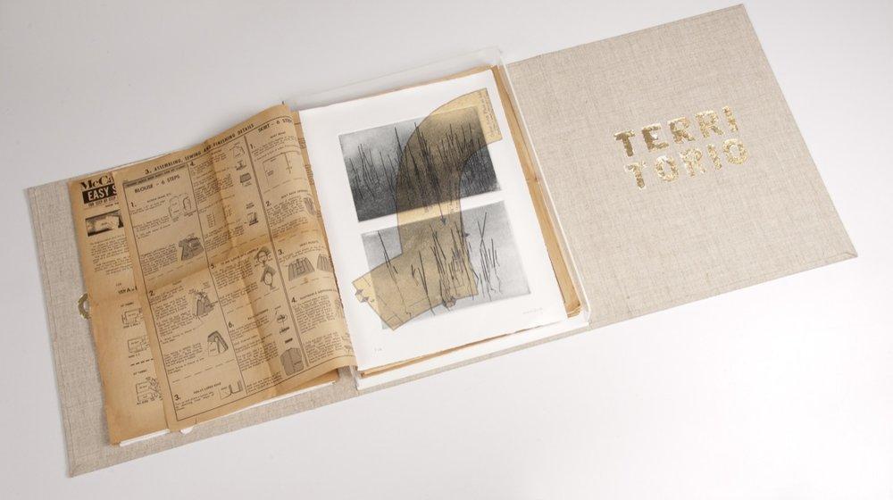 Cuerpo Territorio. Libro de artista. 2011
