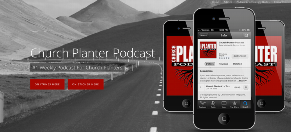 CHURCH PLANTER PODCAST by Pete Mitchell & Peyton Jones