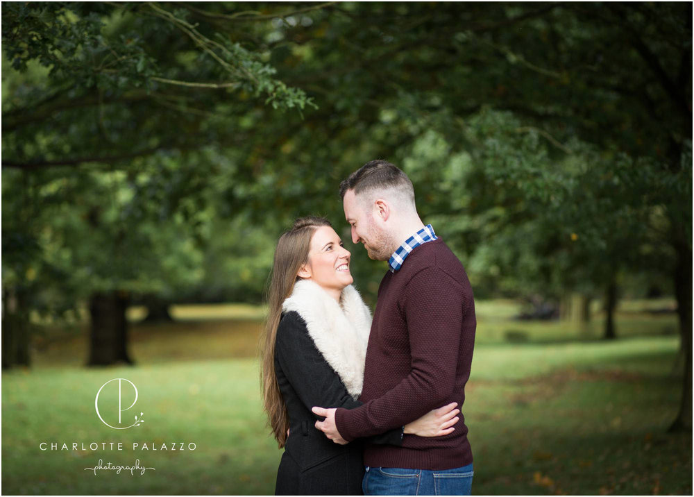 Romance in the Trees // A pre-wedding engagement photoshoot at Dunham Massey in Cheshire