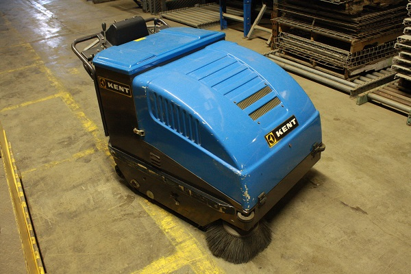 Kent Walk Behind Floor Sweeper | 12 Volt System With Charger | No Batteries | $1500