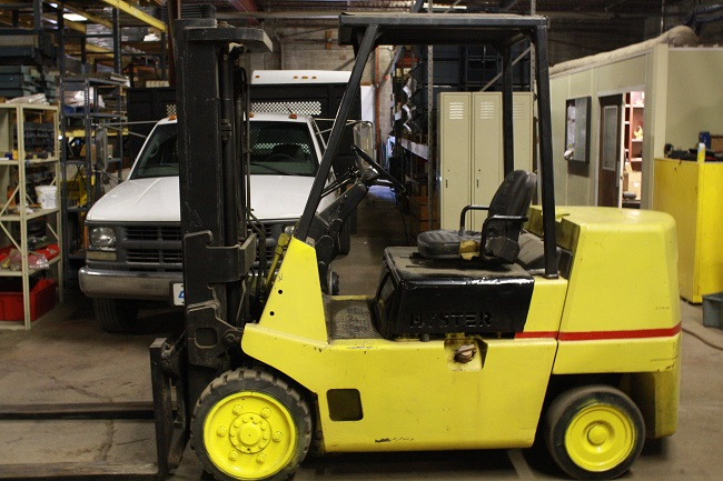 Hyster Forklift S80XL | Ser #: D004V06551P | 5' Forks | New Tires | New Brakes | 4.3 GMC Motor | Gasoline Powered | $6950