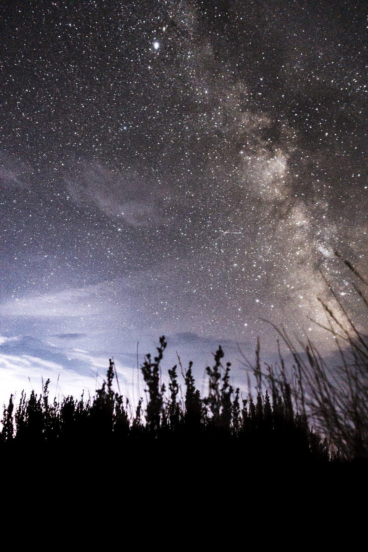 Milky Way in the Basin