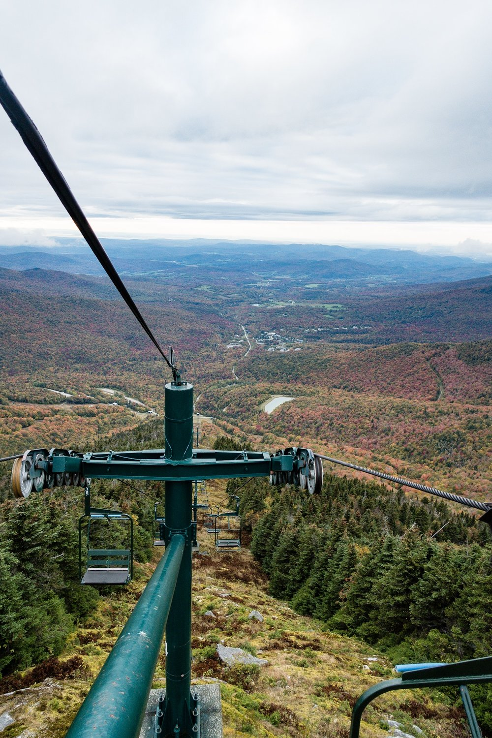 View from the top of the Ski Lift