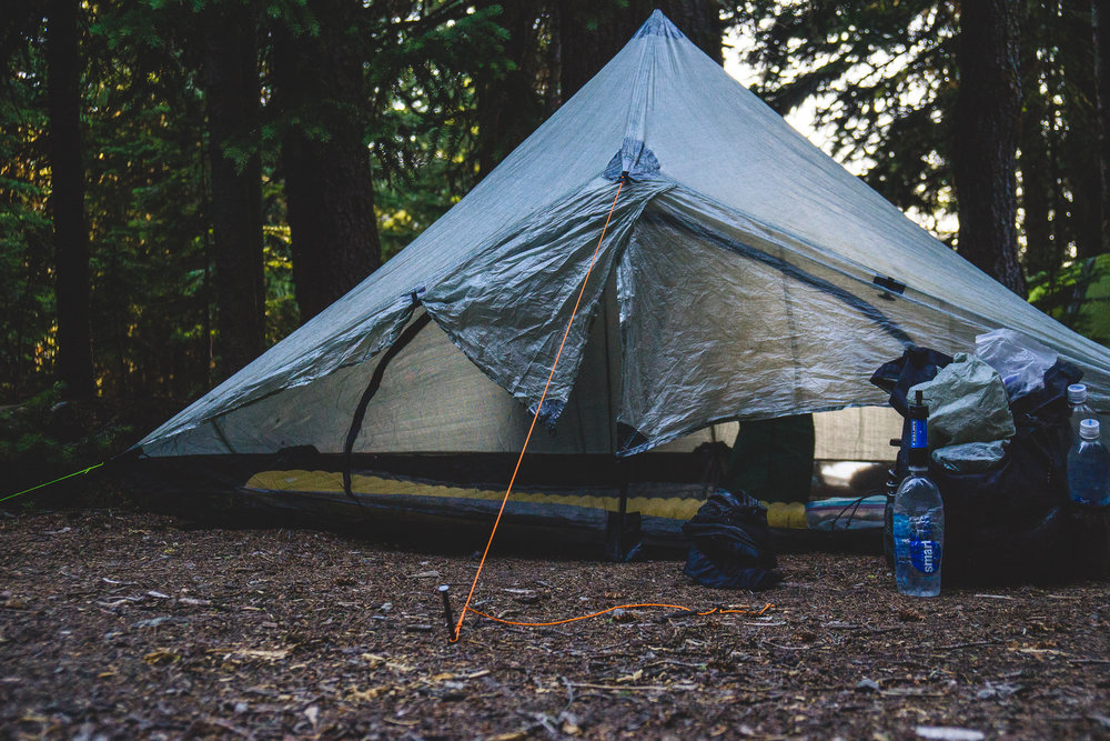 A typical layout of c& & Gear Review: Zpacks Hexamid Solo Tent w/ Bathtub Floor u2014 NATHAN A ...