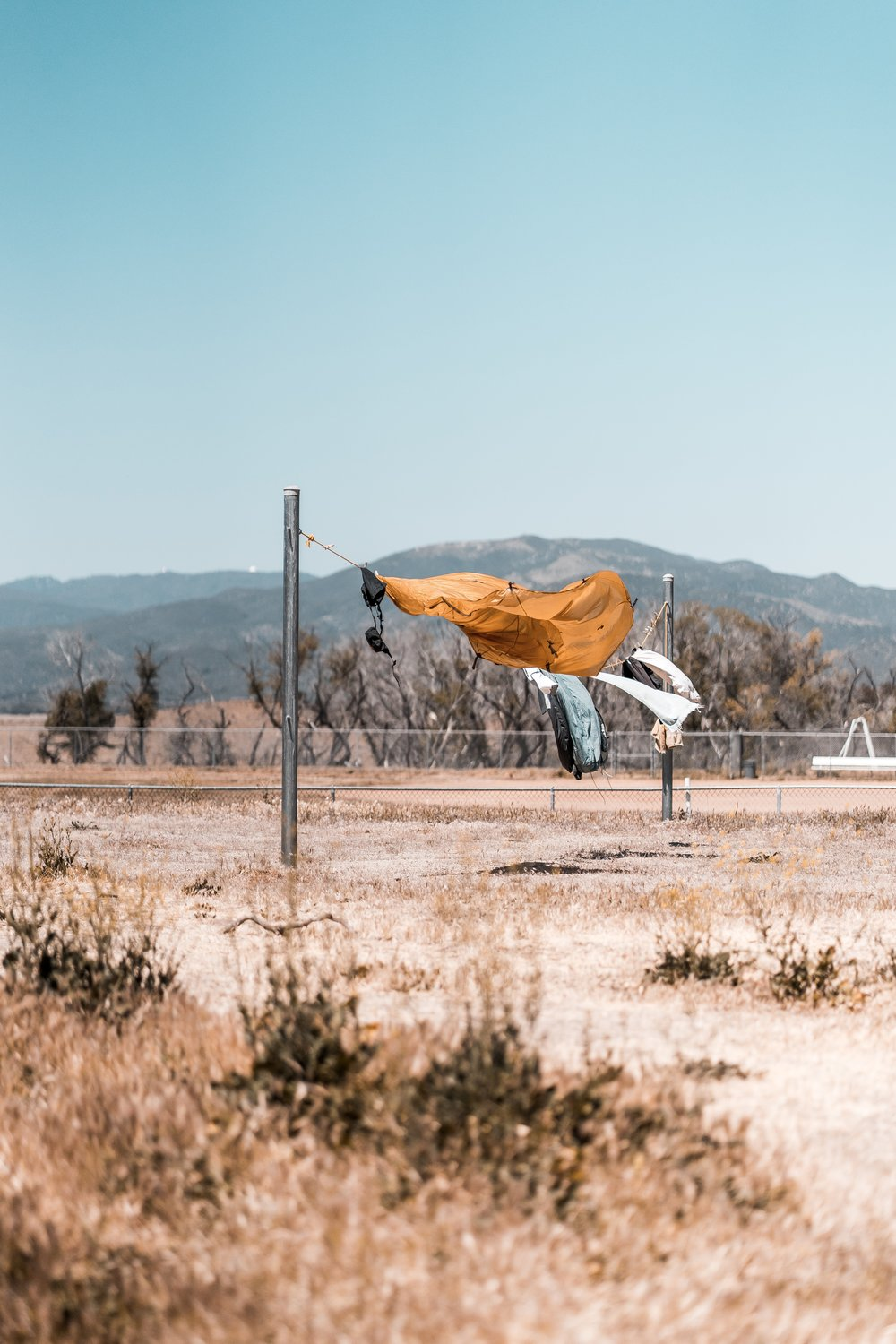 People Drying Stuff Out in Warner Springs