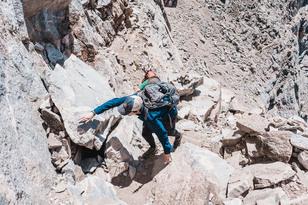 Class 3 Scrambling on the Sawtooth