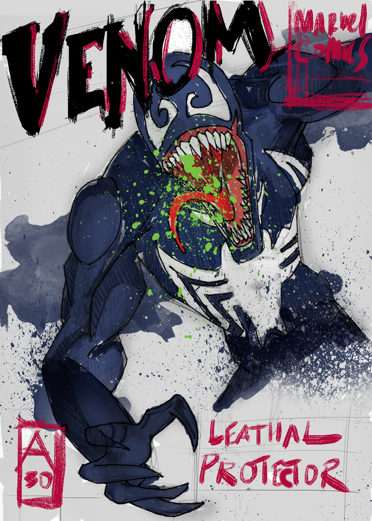 Venom Illustration