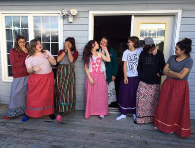 Micheeging Girls Group, Ojibwe Cultural Foundation