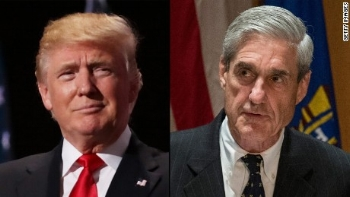 Donald Trump and Special Prosecutor Robert Mueller III