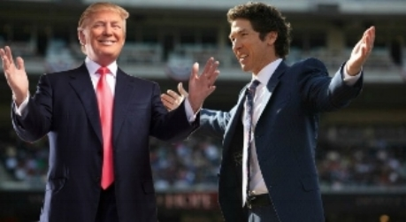 Joel Osteen and D.J.T.