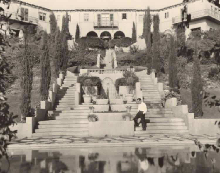 Buster Keaton's Italian Villa c. 1927