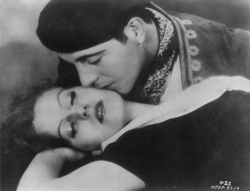 Cortez and Garbo in  Torrent  (1926)