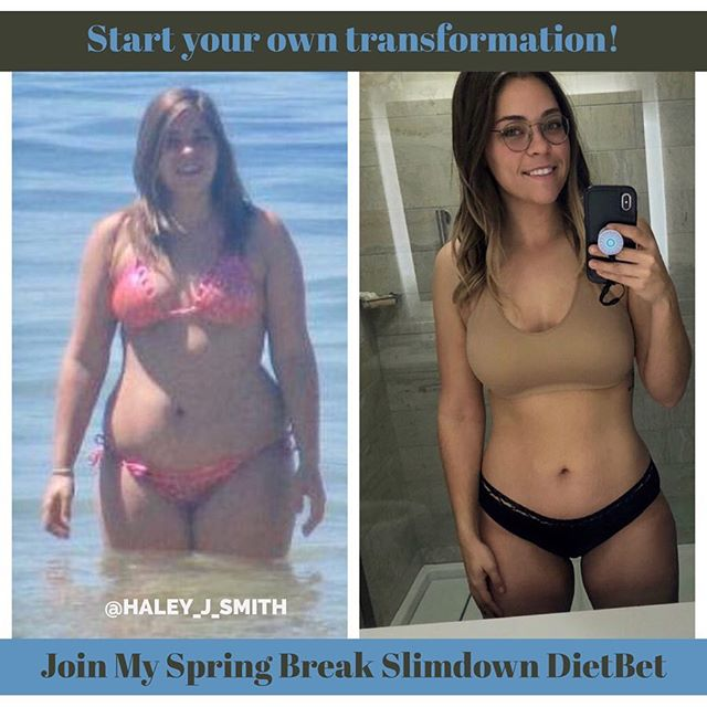 Officially day one of my Dietbet! You can still sign up! Thousands of women have used Dietbet to make a transformation just like mine! All you have to do is decide this is your time! You just have to lose 4% of your body weight in 4 weeks to win. It's a great way to get motivated and win cash! I post motivation, workouts, meal plans, tips, and more the whole time! You don't have to go about your weight loss alone, join my fit family by clicking the link in my bio to sign up! Message if you have any questions! • #dietbet #dietbetchallenge #dietbetgoals #diet #eatclean #onemealatatime #onedayatatime #oneworkoutatatime #fitness #fitnessgoals #fitnessmotivation #fitnessinspiration #workoutmotivation #workoutinspiration #fitspo #fitspiration #fitforfall #healthyfortheholidays #healthyholidays #newyearsresolution #fitnessresolution #newyearsfitness #springbreakweightloss #springbreakchallenge #springbreak #weightlosstransformations #weightlosschallenge #springbreakslimdown18 #springbreakslimdown