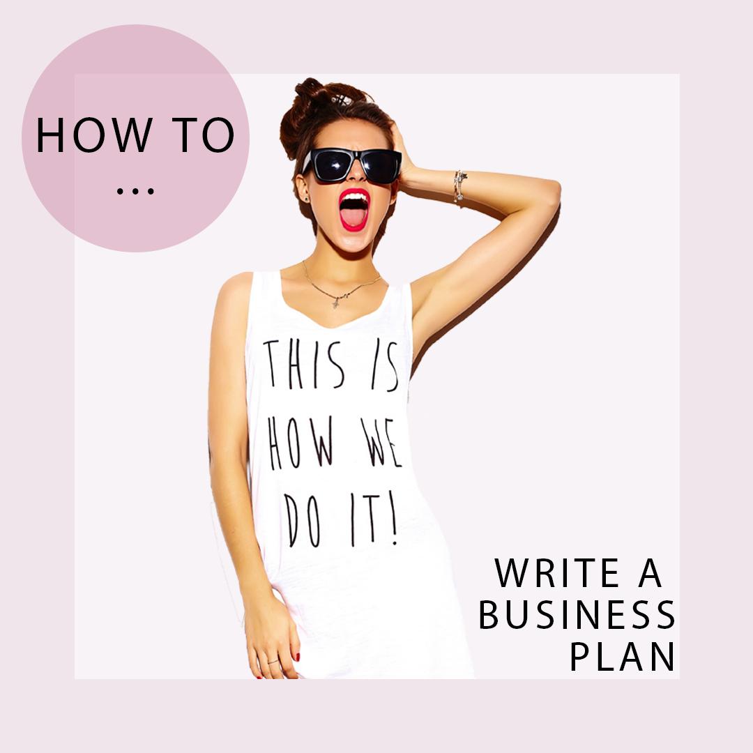 Write A Business Plan Startyourownfashionlabel Com