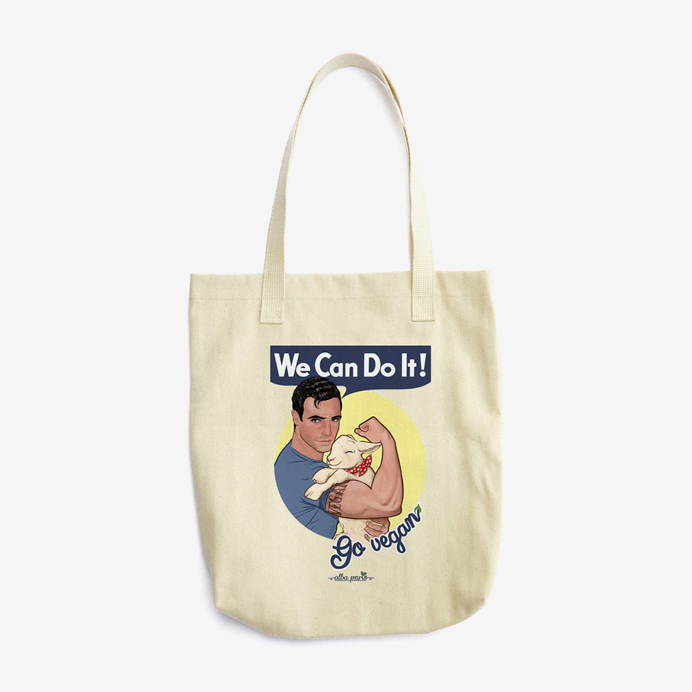 we can do it go vegan tote alba paris.jpg