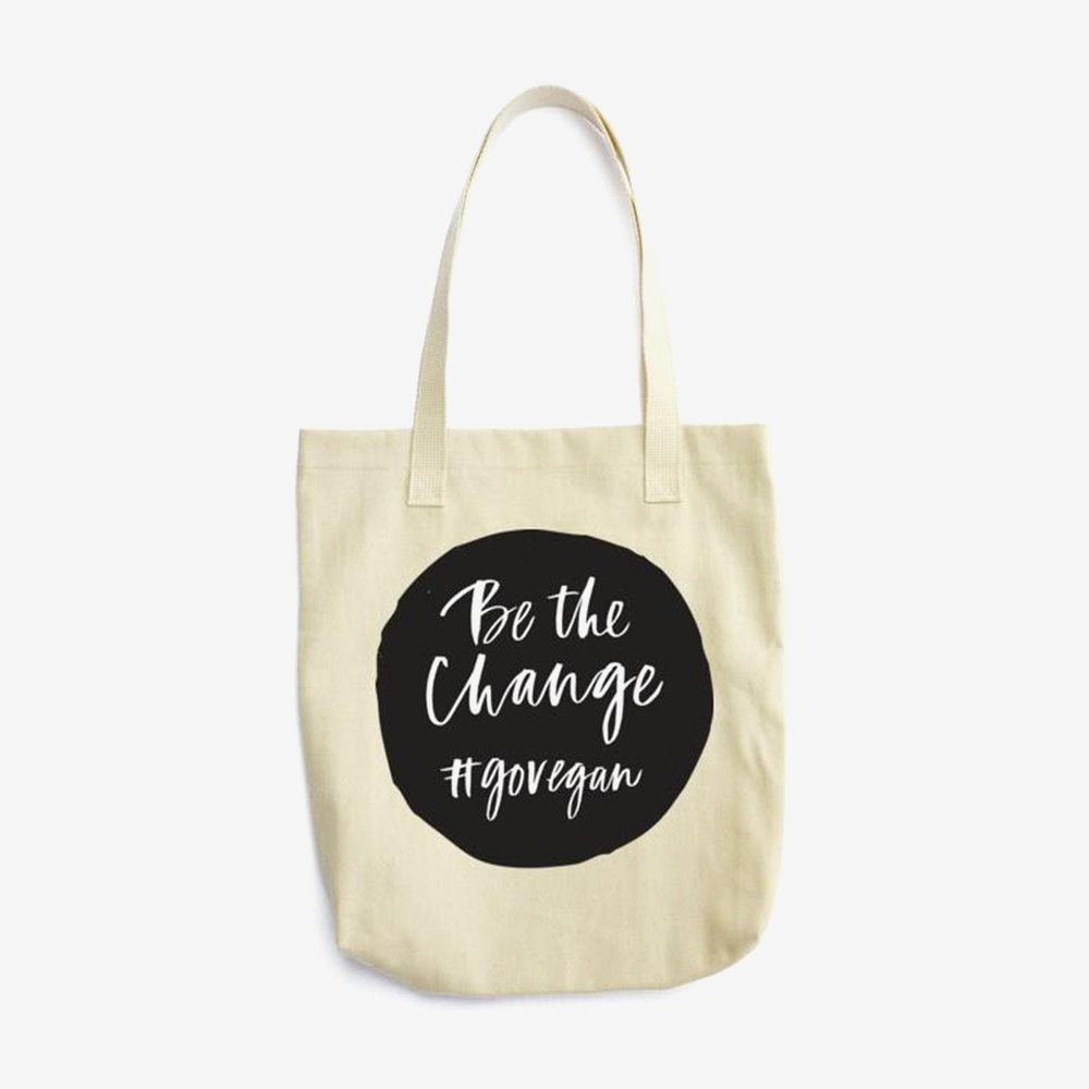 vegan supply vegan tote be the change.jpg