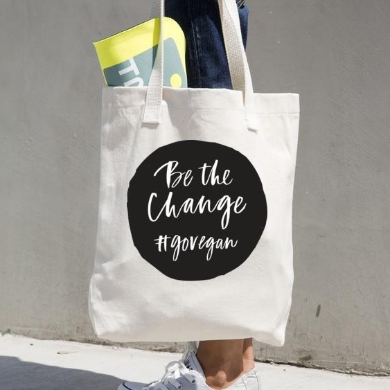 vegan tote vegan supply co - be the change