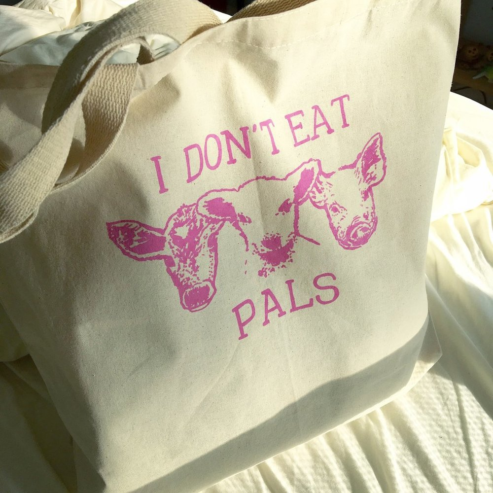 I-don't-eat-pals-vegan-tote