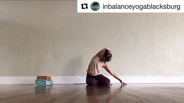 SO excited to be sharing Yin again!! Every Thursday evening at 7:15!💜#Repost @inbalanceyogablacksburg (@get_repost) ・・・ We now offer Yin - Deep Stretch every Thursday night from 7:15 - 8:15 pm with @jojobyogi! Yin Yoga is a practice that brings balance to active bodies and calms the mind using passively held floor poses (deep stretching for typically 3 minutes per pose).