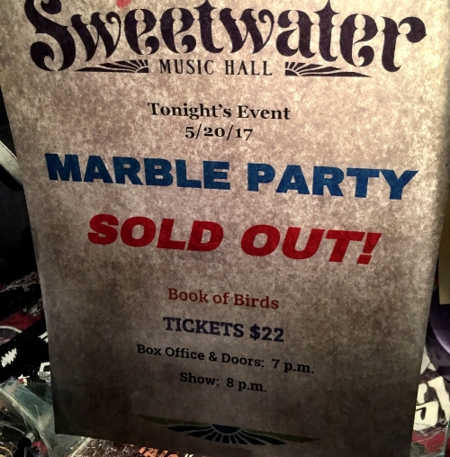 Marble Party Sweetwater