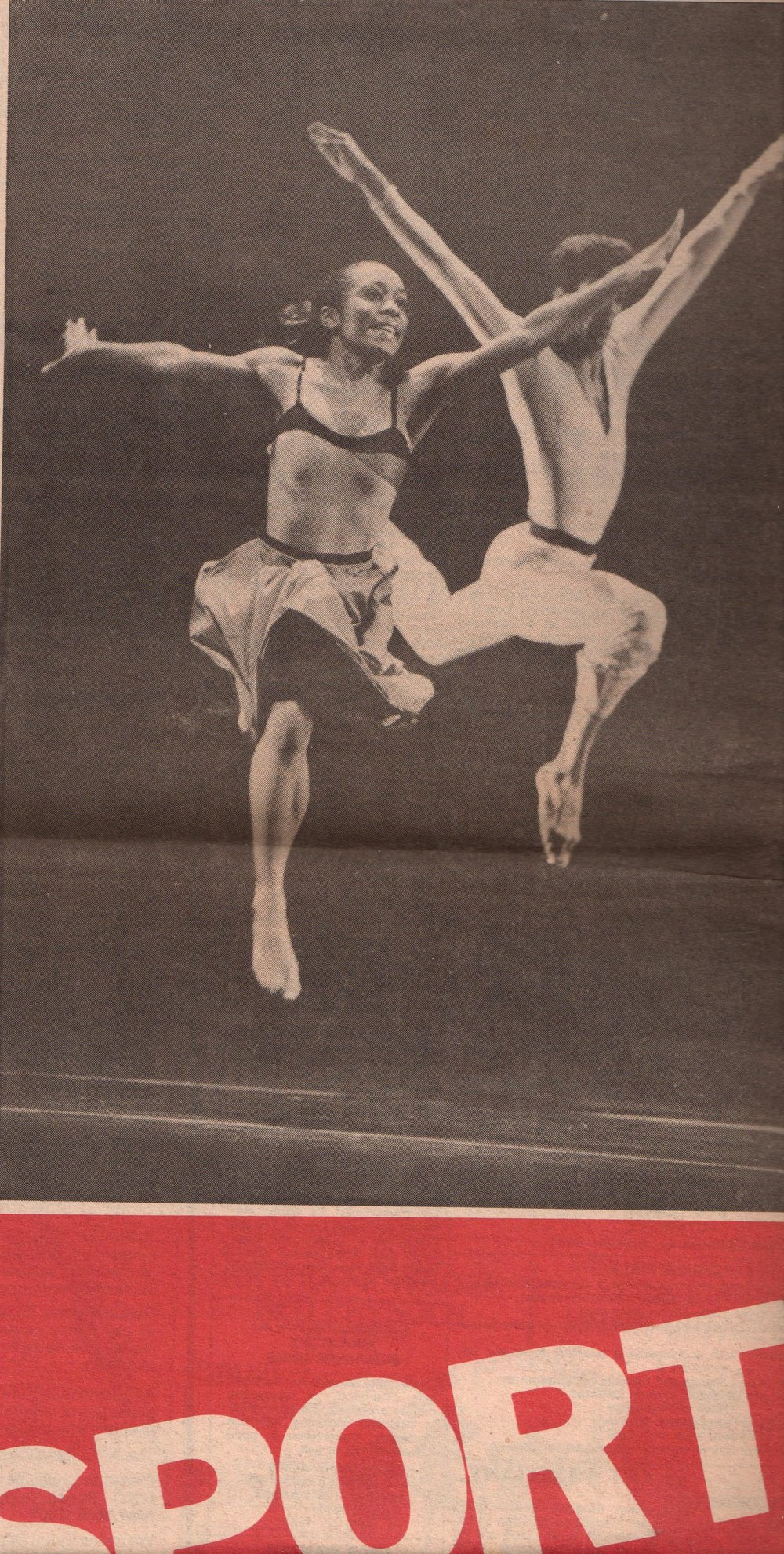 """Dancer as Athlete,""  The City Sun"