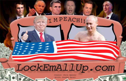 Lock Em All Up Bumper Sticker One For 15 Lock Them All Up